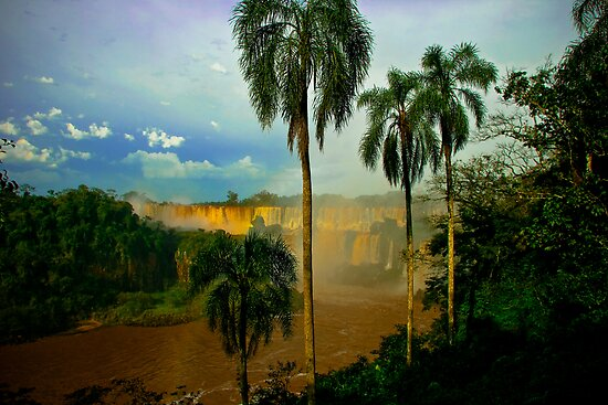 Iguazu Falls, Argentina by rochelle