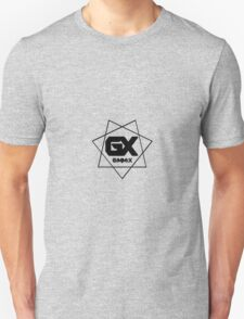 GiMMiX Logo/Vector (Black on White) Unisex T-Shirt