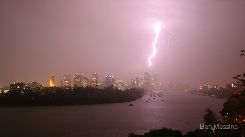 Last night's Storm by Ben Messina