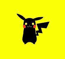 Black Pikachu by galatria