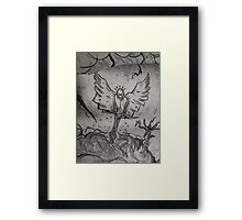 Mr Tooth Faery Goes Gothic Framed Print