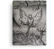 Mr Tooth Faery Goes Gothic Canvas Print