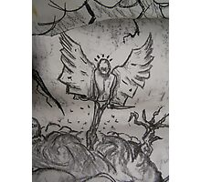 Mr Tooth Faery Goes Gothic Photographic Print