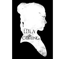 leila is coming Photographic Print