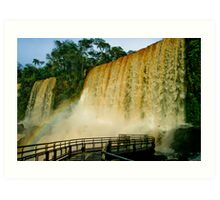 Iguazu Falls, Argentina Art Print