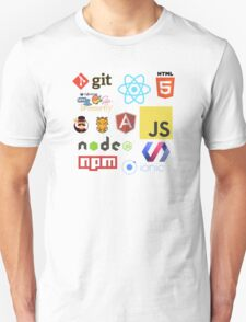 Javascript Stickers, Mugs, T-shirts and Phone cases Unisex T-Shirt