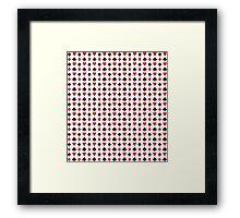poker cards symbol Framed Print