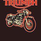 Triumph Trident by Steve Harvey