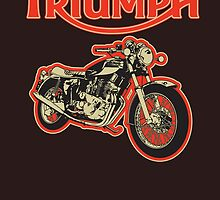 Triumph Trident by Steve Harvey