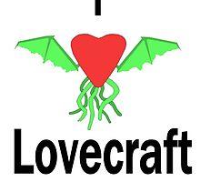 I Love Lovecraft by InfiniteBlue88