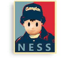Ness Leaves Onett For a Different Hood Canvas Print
