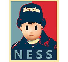 Ness Leaves Onett For a Different Hood Photographic Print