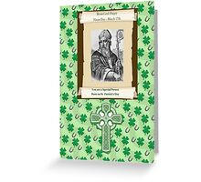 Feast Day, Name Day March 17th Patrick Greeting Card