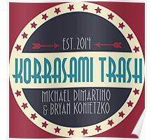 Korrasami Trash Poster