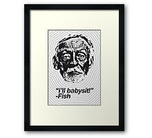 Anti-Icons: Albert Fish Framed Print