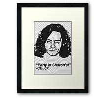 Anti-Icons: Charles Manson Framed Print