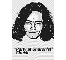 Anti-Icons: Charles Manson Photographic Print