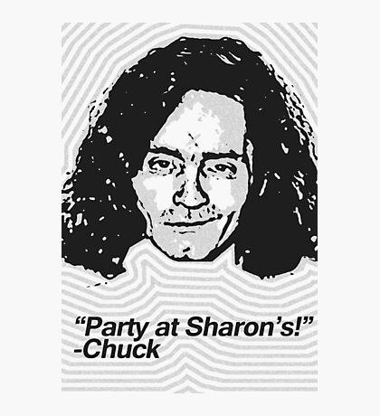 Anti-Icons: Charles Manson Photographic Print