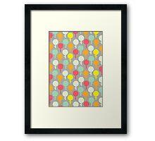 Lollipop tree's Framed Print