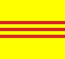 Flag of South Vietnam, 1955-1975 by abbeyz71