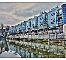 Living by the canal by Tim Constable by Tim Constable