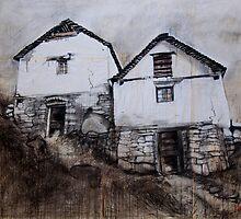 Bavona Houses, Switzerland by itchingink