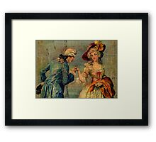 Romantic Meeting Framed Print