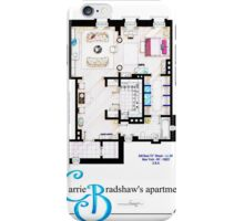 Carrie Bradshaws apartment as a Poster (Movie version) iPhone Case/Skin
