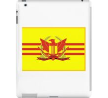 War Flag of South Vietnam iPad Case/Skin