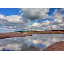 Reflections on Inverness Beach Nova Scotia Photographic Print