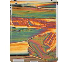 Erbium nitrate under the microscope iPad Case/Skin