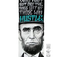 HUSTLE BOARD PRINT BY MUNK ONE by MUNKONE