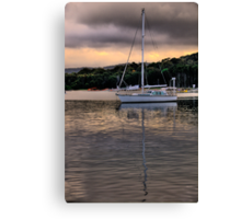 Mirror - Newport - The HDR Series Canvas Print