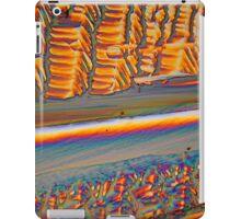 Rare Materials: Erbium nitrate under the microscope iPad Case/Skin