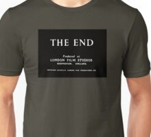 The End, Fin, Finis, That's all folks Unisex T-Shirt
