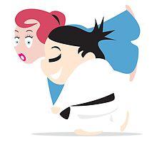 Judo girls by matticchio