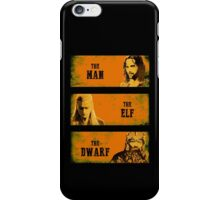 The Man The Elf The Dwarf iPhone Case/Skin