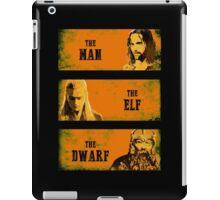 The Man The Elf The Dwarf iPad Case/Skin