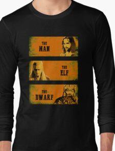 The Man The Elf The Dwarf Long Sleeve T-Shirt
