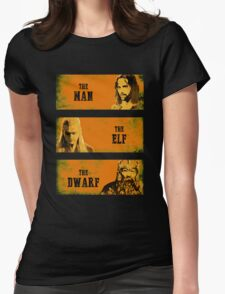 The Man The Elf The Dwarf Womens Fitted T-Shirt