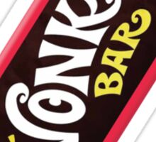 Wonka Chocolate Bar Sticker