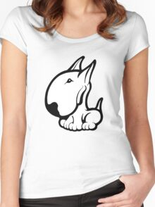 Odie English Bull Terrier Women's Fitted Scoop T-Shirt