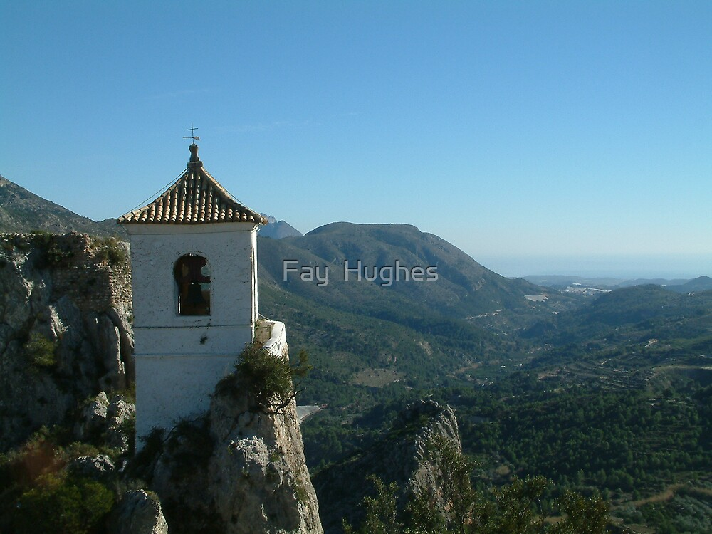 View from Guadalest by Fay  Hughes