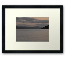 Loch Ness sunset Framed Print