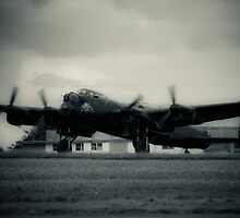Lancaster bomber by Martyn Franklin