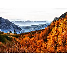 Eastern Sierras Photographic Print