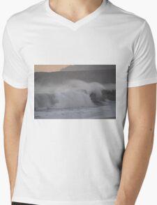 Jenner Waves Mens V-Neck T-Shirt