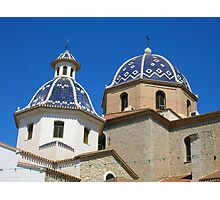 Spanish church Photographic Print