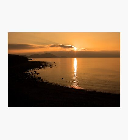 Sunset At Cune Beach Photographic Print
