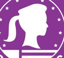 Pawnee Goddesses - Purple Sticker